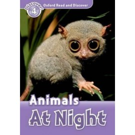 Discover! 4 Animals at Night + Audio CD
