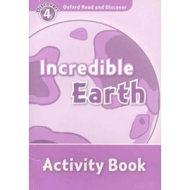 Discover! 4 Incredible Earth Activity Book