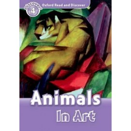 Discover! 4 Animals In Art + Audio CD