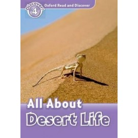 Discover! 4 All About Desert Life + Audio CD