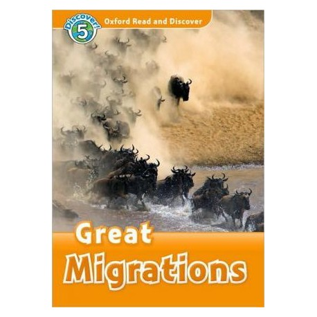 Discover! 5 Great Migrations + Audio CD Oxford University Press 9780194645416
