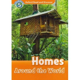 Discover! 5 Homes Around the World + Audio CD