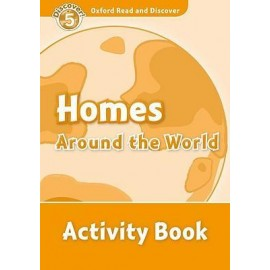 Discover! 5 Homes Around the World Activity Book