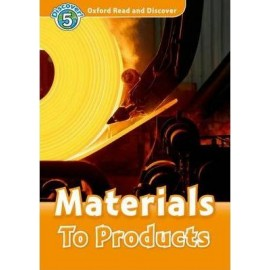 Discover! 5 Materials to Products + Audio CD