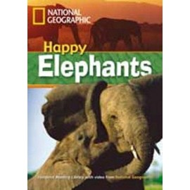 National Geographic Footprint Readers: Happy Elephants + DVD