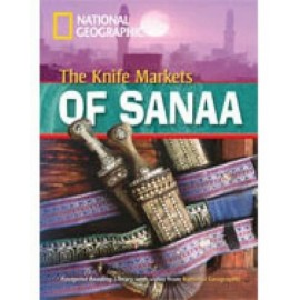 National Geographic Footprint Readers: The Knife Markets of Sanaa + DVD