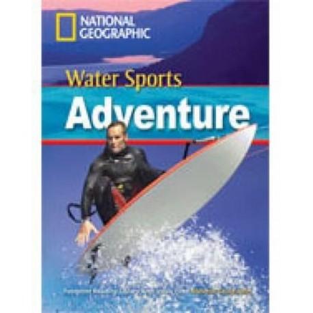 National Geographic Footprint Readers: Water Sports Adventure + DVD he 9781424021703