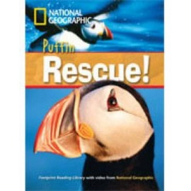 National Geographic Footprint Readers: Puffin Rescue! + DVD