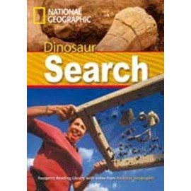National Geographic Footprint Readers: Dinosaur Search + DVD