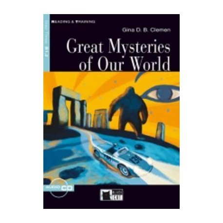 Great Mysteries of Our World + CD Black Cat - CIDEB 9788853002914
