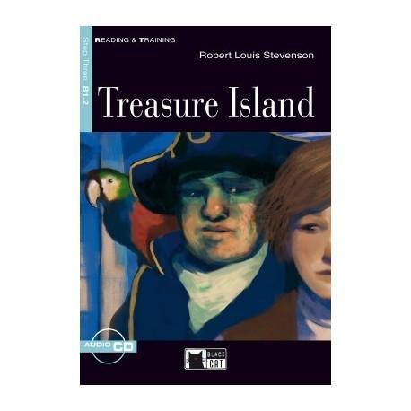 Treasure Island + CD Black Cat - CIDEB 9788853006400