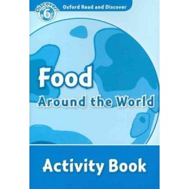 Discover! 6 Food Around the World Activity Book