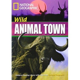 National Geographic Footprint Reading: Wild Animal Town + DVD