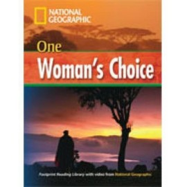 National Geographic Footprint Reading: One Woman's Choice + DVD
