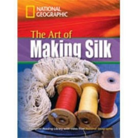 National Geographic Footprint Reading: The Art of Making Silk + DVD