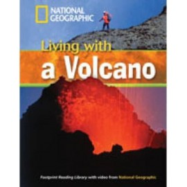 National Geographic Footprint Reading: Living with a Volcano + DVD