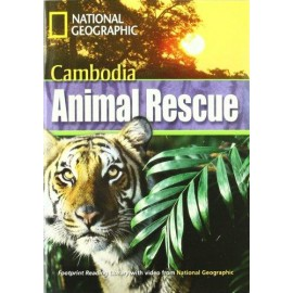 National Geographic Footprint Reading: Cambodia Animal Rescue + DVD