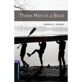 Oxford Bookworms: Three Men in a Boat + mp3 audio download