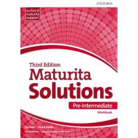 Maturita Solutions Third Edition Pre-Intermediate Workbook Czech Edition