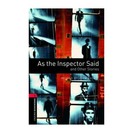 Oxford Bookworms: As the Inspector Said and Other Stories + CD Oxford University Press 9780194792929