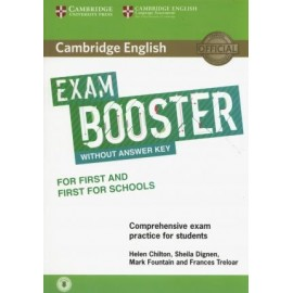 Cambridge English Exam Booster for First and First for Schools without Answer Key with Audio