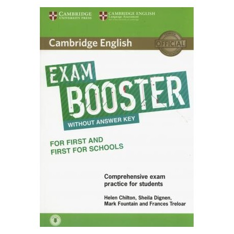 Cambridge English Exam Booster for First and First for Schools without Answer Key with Audio 9781316641750
