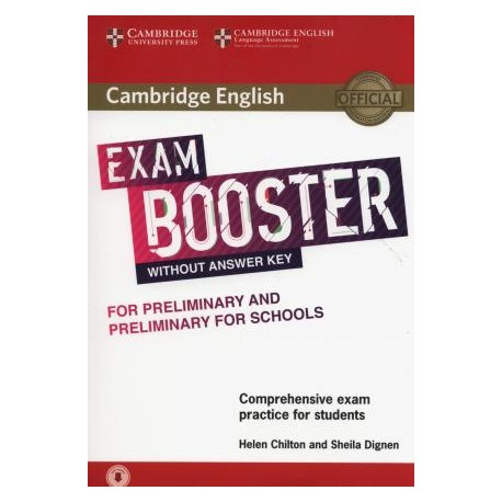 Cambridge English Exam Booster for Preliminary and Preliminary for Schools without Answer Key with Audio 9781316641781