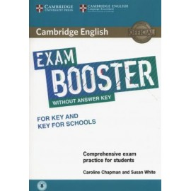 Cambridge English Exam Booster for Key and Key for Schools without Answer Key with Audio