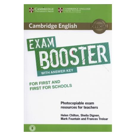 Cambridge English Exam Booster for First and First for Schools with Answer Key with Audio 9781316648438