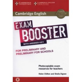 Cambridge English Exam Booster for Preliminary and Preliminary for Schools with Answer Key with Audio