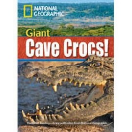 National Geographic Footprint Reading: Giant Cave Cross! + DVD