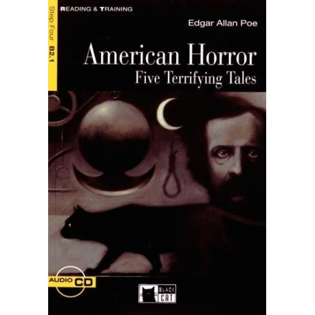 American Horror + CD Black Cat - CIDEB 9788853000217