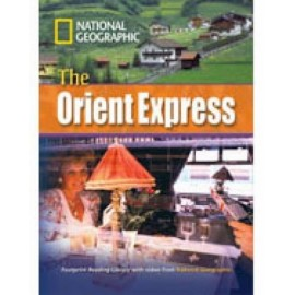 National Geographic Footprint Readers: The Orient Express + DVD