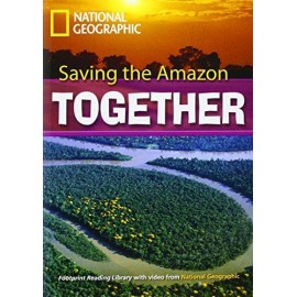 National Geographic Footprint Readers: Saving the Amazon Together+ DVD