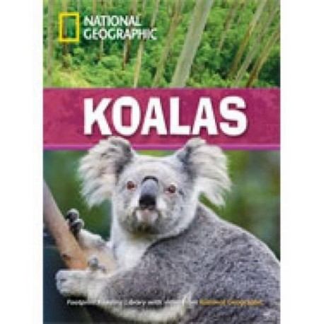 National Geographic Footprint Readers: Koalas + DVD Heinle Cengage Learning 9781424022137