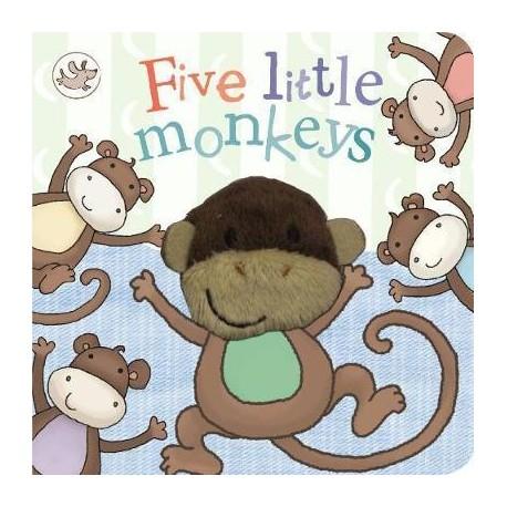 Little Learners Five Little Monkeys 9781472323668