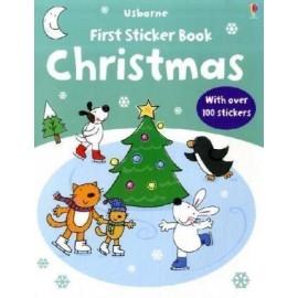 Usborne First Sticker Book: Christmas