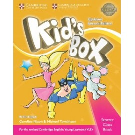 Kid´s Box Updated Second Edition Starter Class Book with CD-ROM