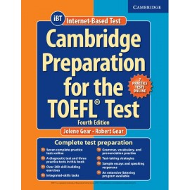 Cambridge Preparation for the TOEFL Test Book with Online Practice Tests + Audio CDs Fourth Edition