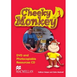 Cheeky Monkey 1 DVD and Photocopiable Resources CD