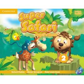 Super Safari 2 Pupil's Book + DVD-ROM