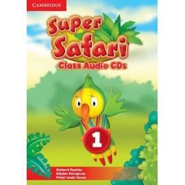 Super Safari 1 Class Audio CDs