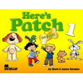 Here's Patch the Puppy 1 Pupil's Book with Songs Audio CD