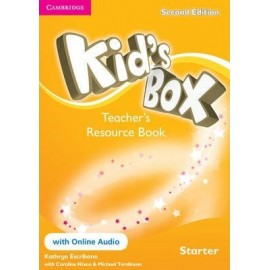 Kid's Box Second Edition Starter Teacher's Resource Book + Online Audio