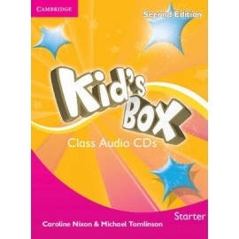 Kid's Box Second Edition Starter Class CDs
