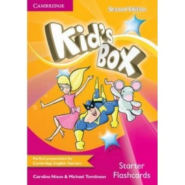 Kid's Box Second Edition and Updated Second Edition Starter Flashcards