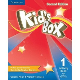 Kid's Box Second Edition 1 Activity Book + Online Resources