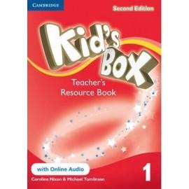 Kid's Box Second Edition 1 Teacher's Resource Book + Online Audio