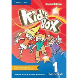 Kid's Box Second Edition and Updated Second Edition 1 Flashcards