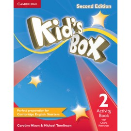 Kid's Box Second Edition 2 Activity Book + Online Resources